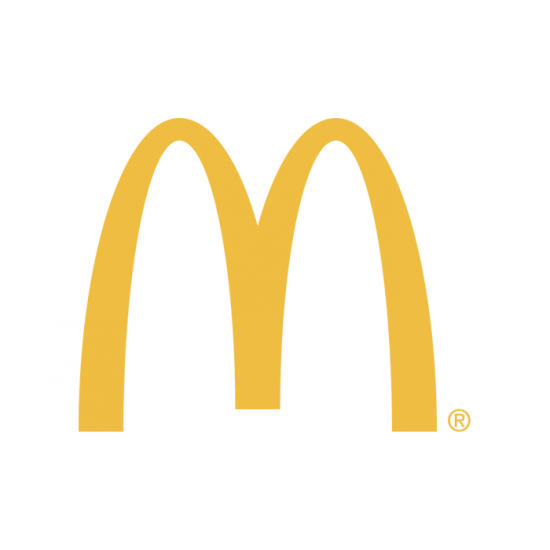 McDonald Logo sticker