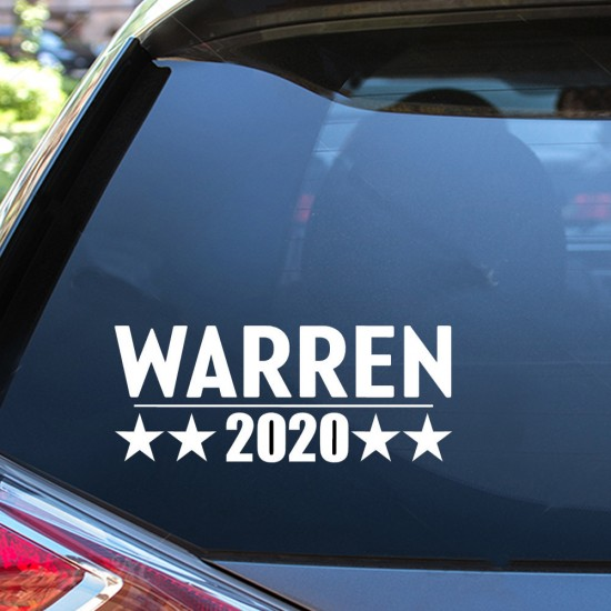 Senator Warren 2020 sticker